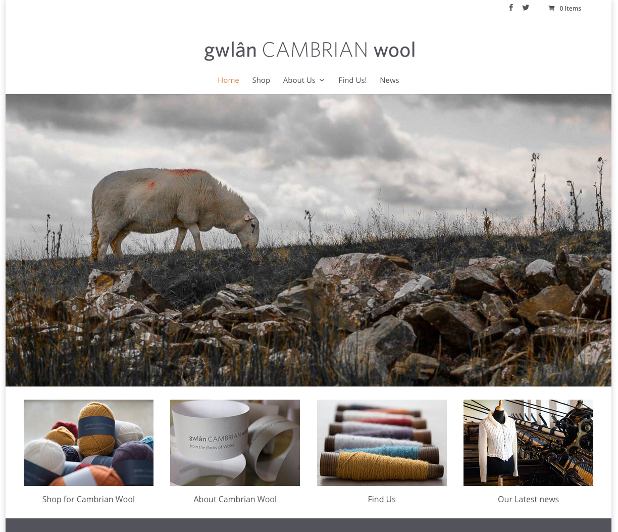 Cambrian Wool Website