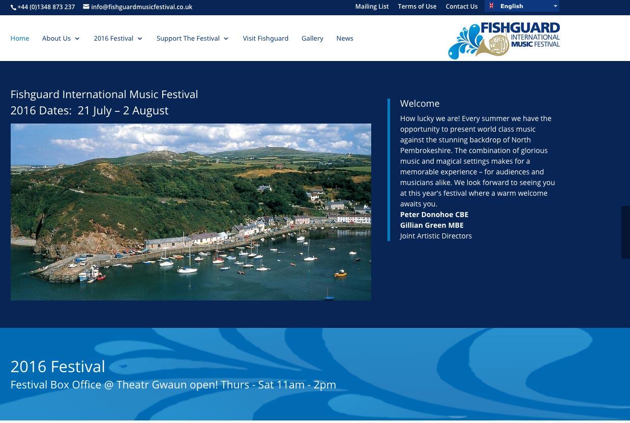 Fishguard Music Festival