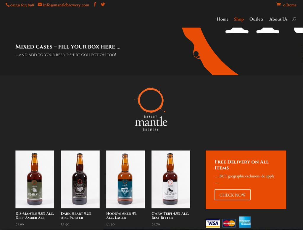 Mantle Brewery Shop