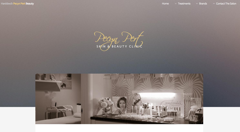 Pecyn Pert Website