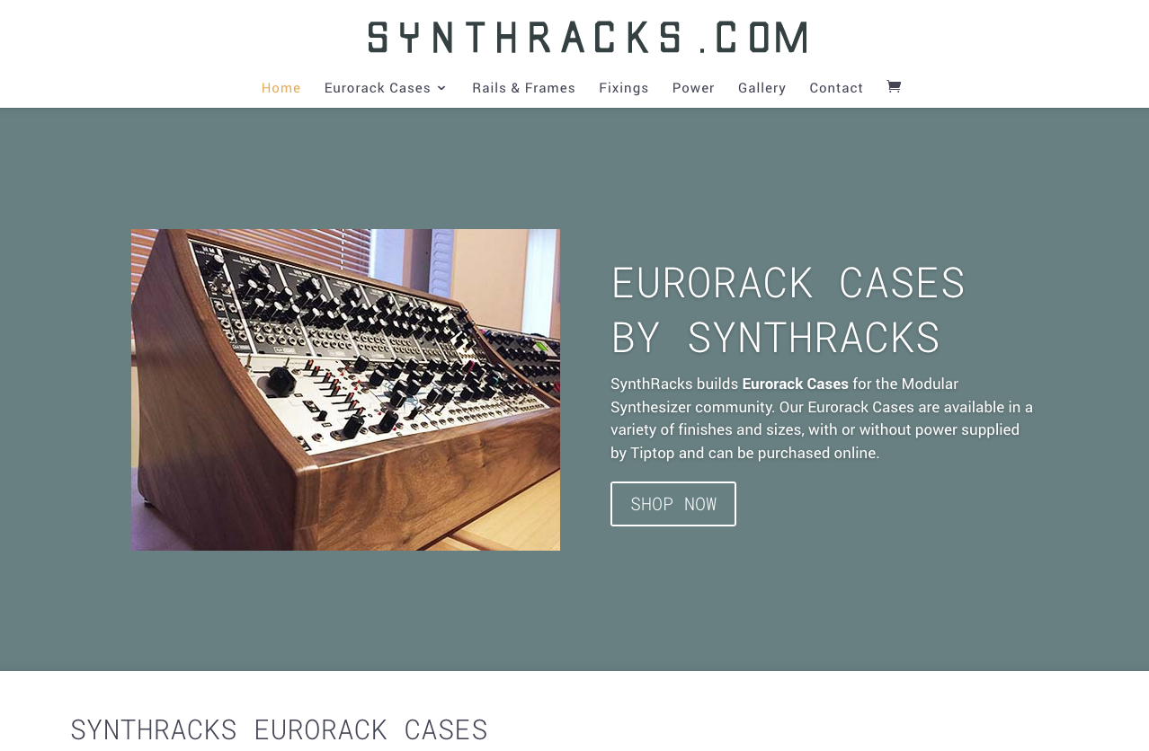 synthracks eurorack cases website