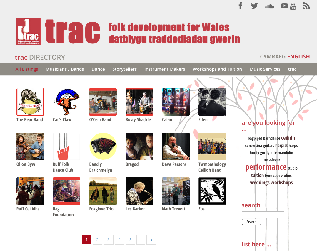 trac Directory